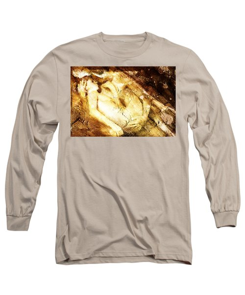 Long Sleeve T-Shirt featuring the digital art Tangle Of Naked Bodies by Andrea Barbieri