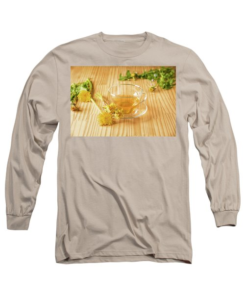 Long Sleeve T-Shirt featuring the photograph Taraxacum Tisane by Traven Milovich