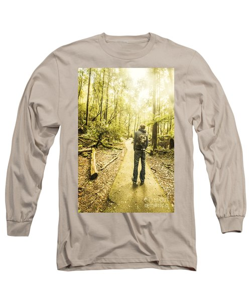 Tasmanian Rainforest Tourist Long Sleeve T-Shirt