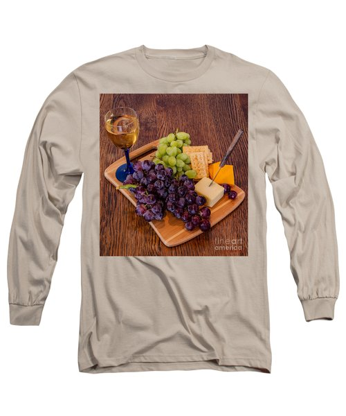 Taste Of The Grape Long Sleeve T-Shirt