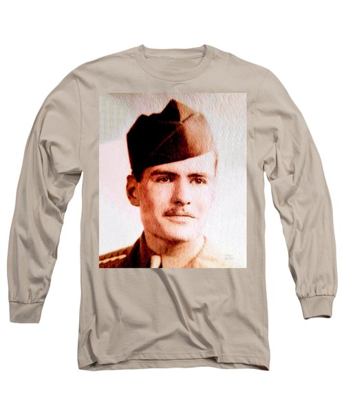 Tawson Clare Wall Avon Wwii Hero Long Sleeve T-Shirt