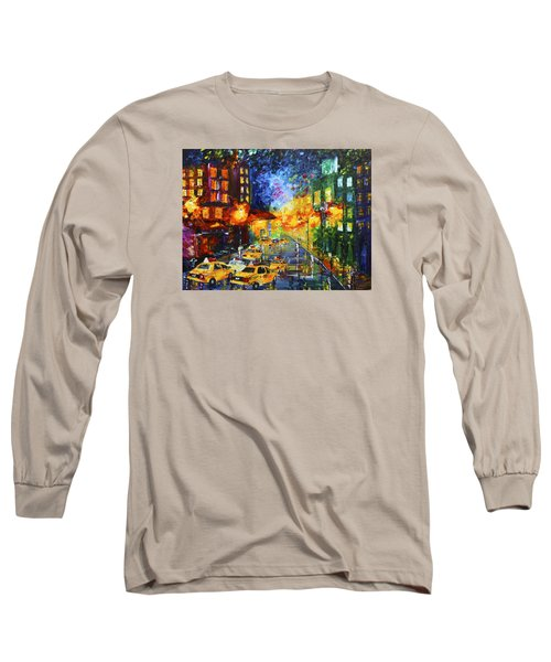 Taxi Cabs Long Sleeve T-Shirt