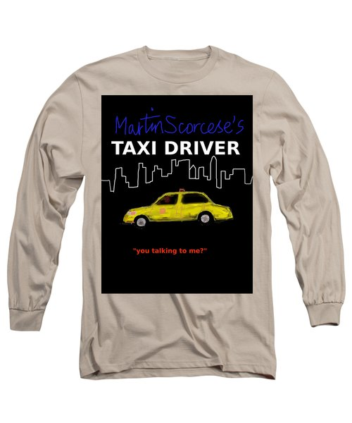 Taxi Driver Movie Poster Long Sleeve T-Shirt