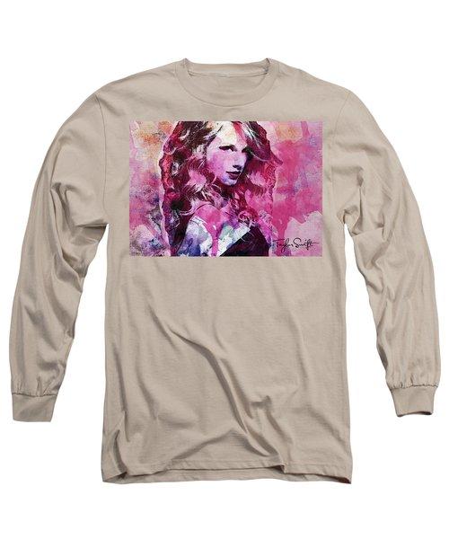 Taylor Swift - Oncore Long Sleeve T-Shirt by Sir Josef - Social Critic - ART