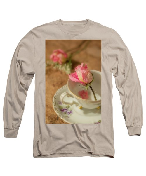 Tea And Roses Long Sleeve T-Shirt