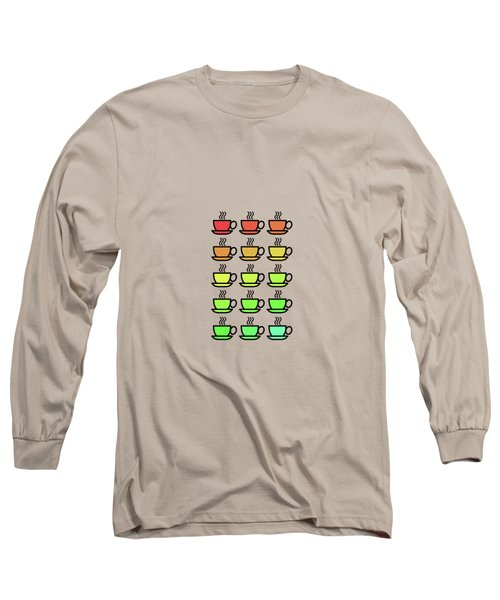 Tea Cups Long Sleeve T-Shirt