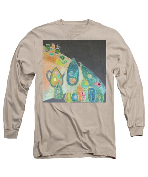 Tea For Two Too Long Sleeve T-Shirt