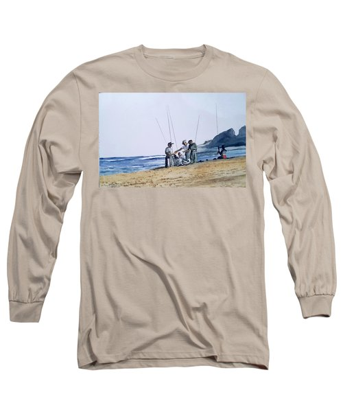 Teach Them To Fish Long Sleeve T-Shirt