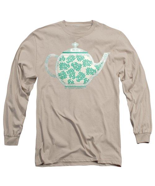 Teapot Garden Party 1 Long Sleeve T-Shirt