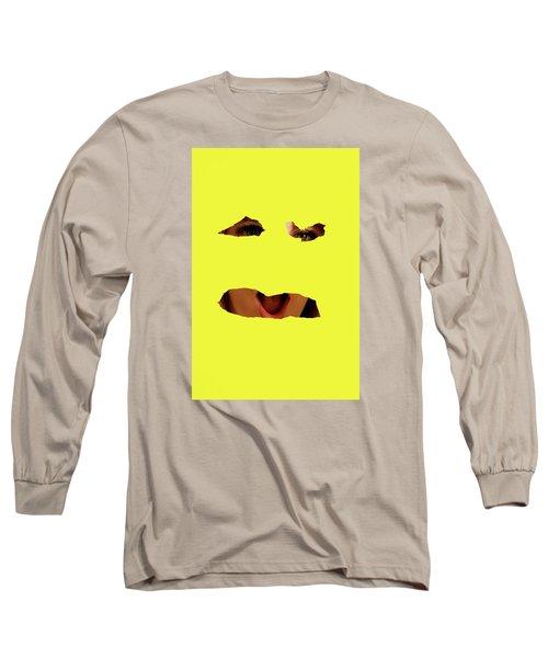 Tear Out Long Sleeve T-Shirt