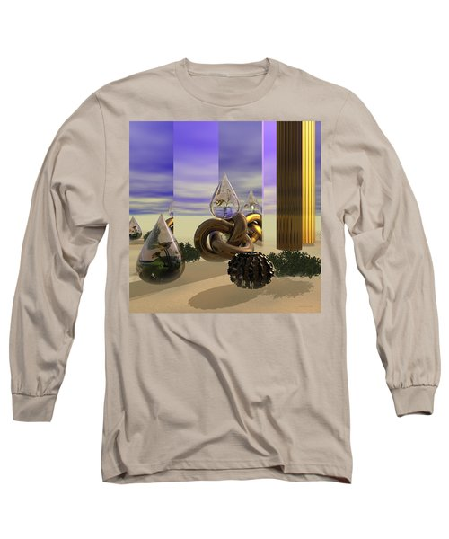 Tears In The Desert Long Sleeve T-Shirt