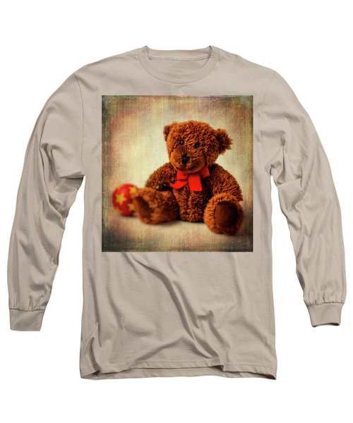 Teddy Bear And Ball Long Sleeve T-Shirt