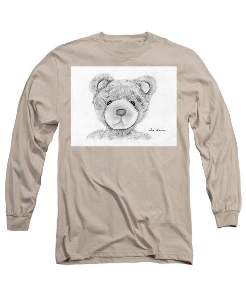 Teddybear Portrait Long Sleeve T-Shirt