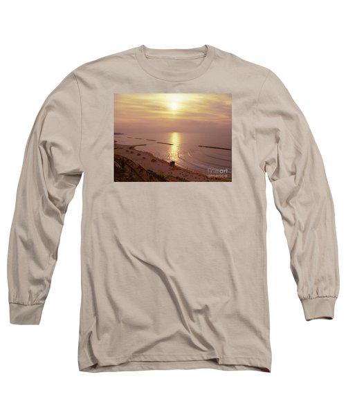 Tel Aviv Beach Morning Long Sleeve T-Shirt by Gail Kent