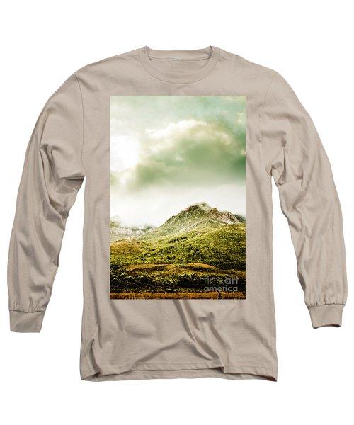 Temperate Alpine Terrain Long Sleeve T-Shirt