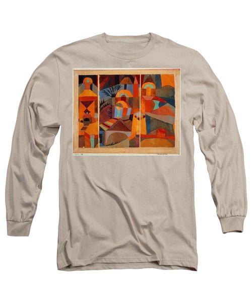 Temple Gardens Long Sleeve T-Shirt