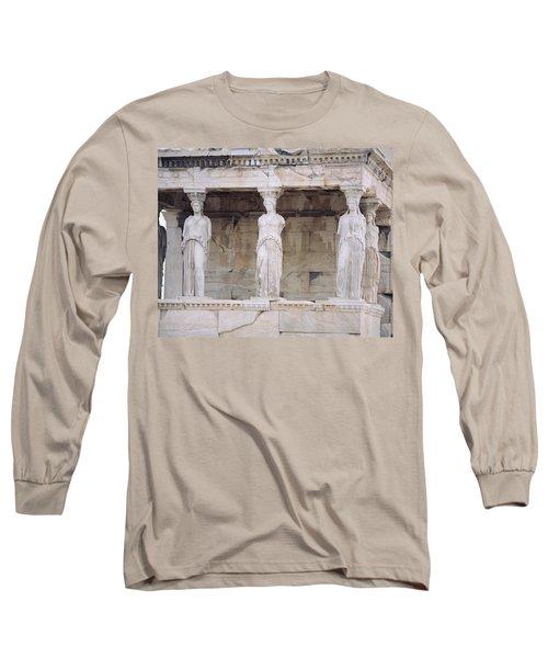 Temple Of Athena Nike Erectheum Long Sleeve T-Shirt