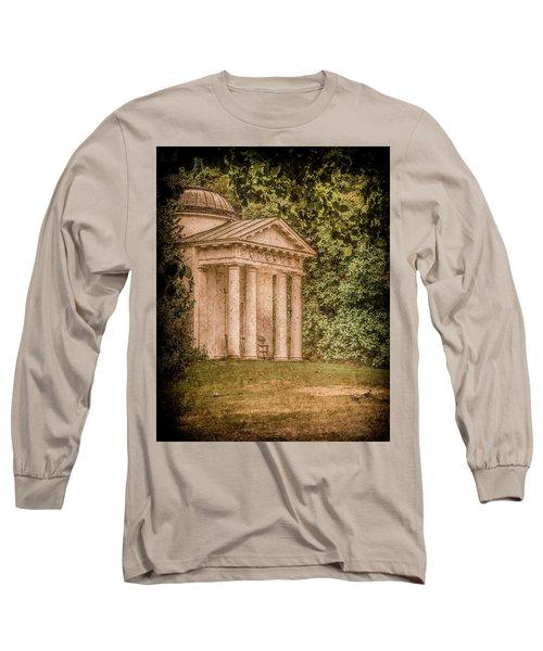 Kew Gardens, England - Temple Of Bellona Long Sleeve T-Shirt