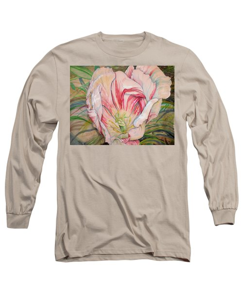Tempting  Tulip Long Sleeve T-Shirt