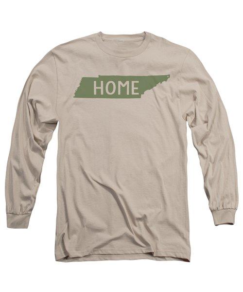 Tennessee Home Green Long Sleeve T-Shirt