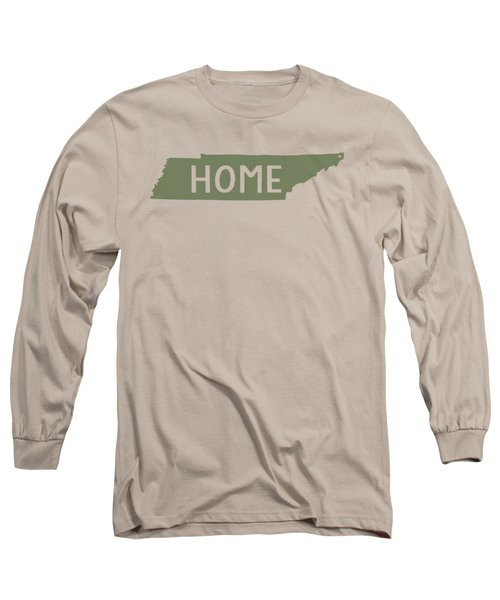 Tennessee Home Green Long Sleeve T-Shirt