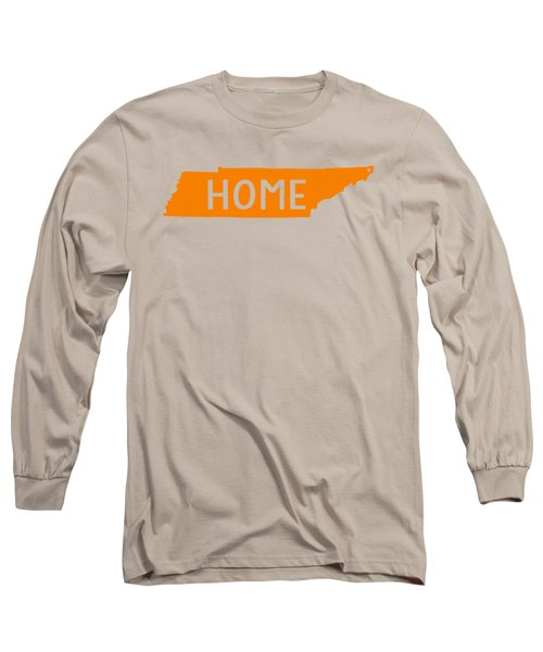 Tennessee Home Orange Long Sleeve T-Shirt