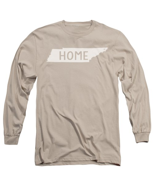 Tennessee Home White Long Sleeve T-Shirt
