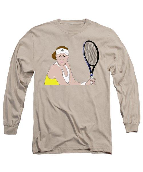 Tennis Player Long Sleeve T-Shirt