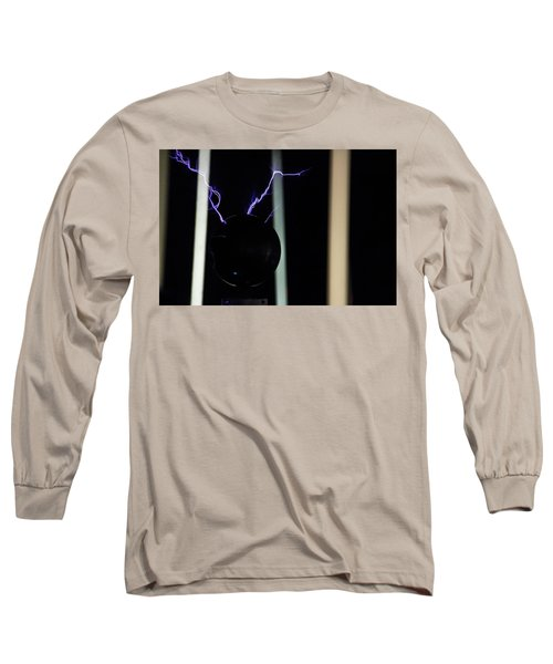 Tesla Coil 5 Long Sleeve T-Shirt