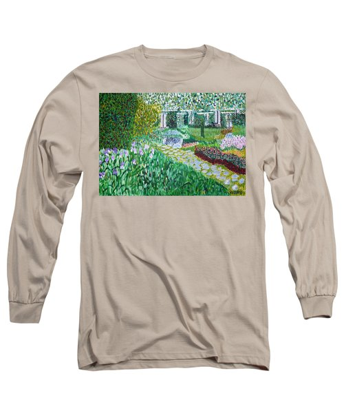 Tete D'or Park Lyon France Long Sleeve T-Shirt by Valerie Ornstein