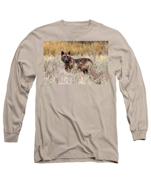 Teton Wolf Long Sleeve T-Shirt
