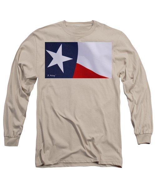 Texas Star Long Sleeve T-Shirt