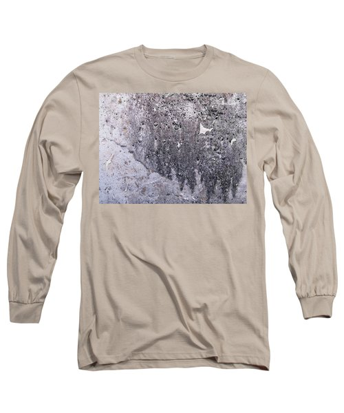 Texture Of Vintage Tattered Wall Long Sleeve T Shirt