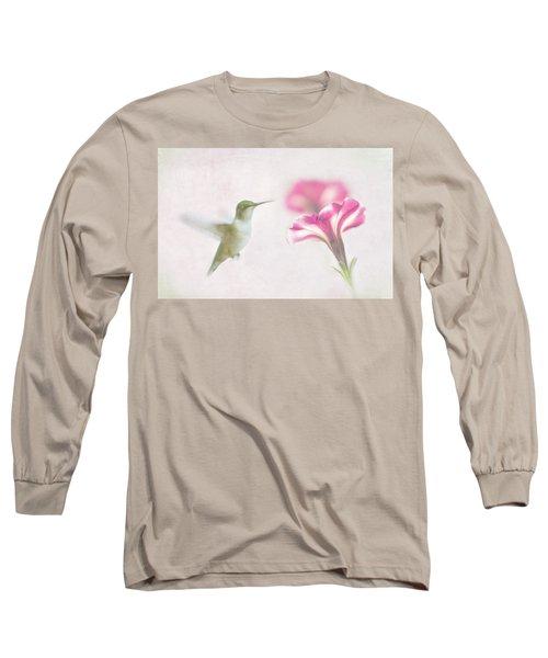 Textured Hummer Long Sleeve T-Shirt