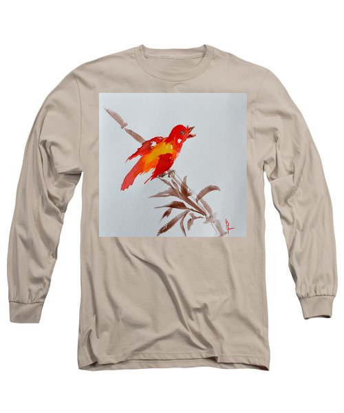 Thank You Bird Long Sleeve T-Shirt
