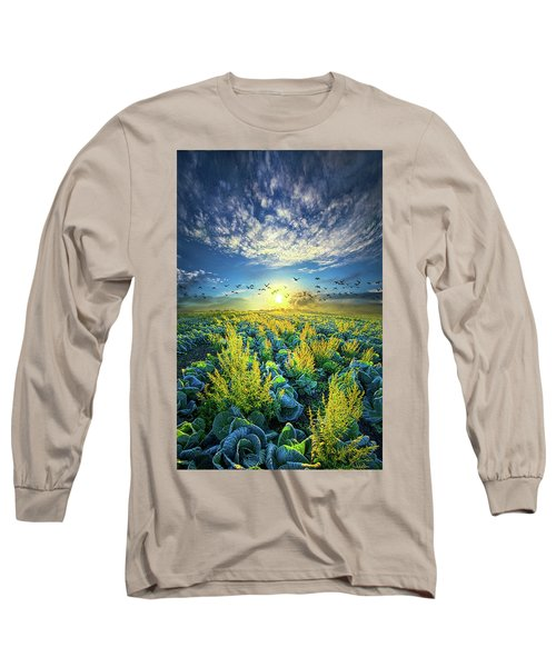 That Voices Never Shared Long Sleeve T-Shirt by Phil Koch