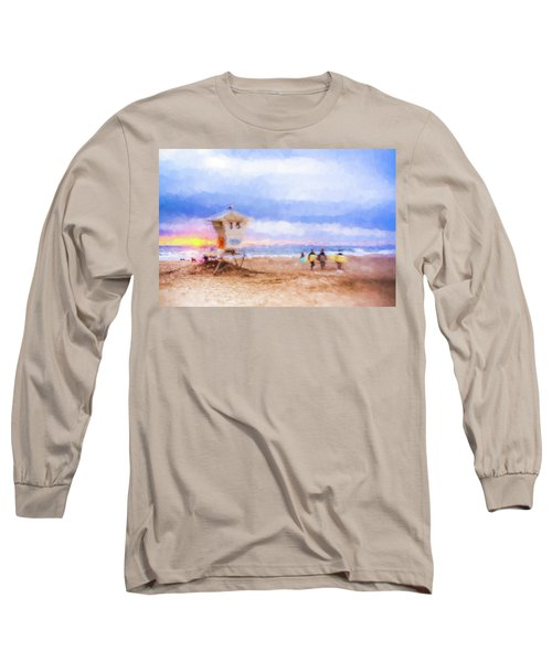 That Was Amazing Watercolor Long Sleeve T-Shirt