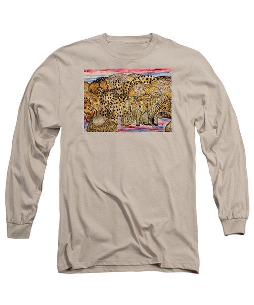 That's Alot Of Elephants Long Sleeve T-Shirt