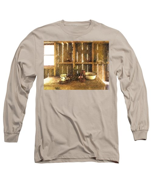The Abandoned Cabin Long Sleeve T-Shirt