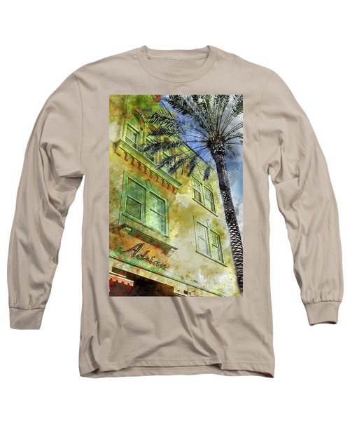 The Adrian Hotel South Beach Long Sleeve T-Shirt