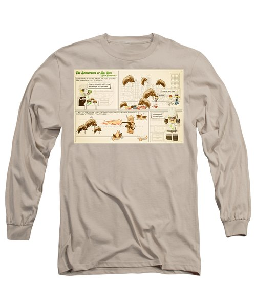 The Adventures Of Dr Ogel Long Sleeve T-Shirt by Mark Fuller