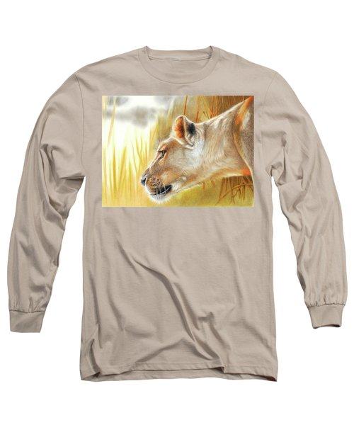 The African Queen Long Sleeve T-Shirt