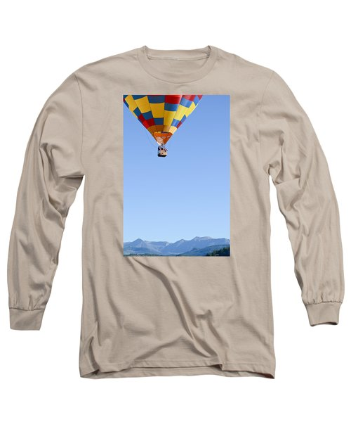 The Air Up There... Long Sleeve T-Shirt by Kevin Munro