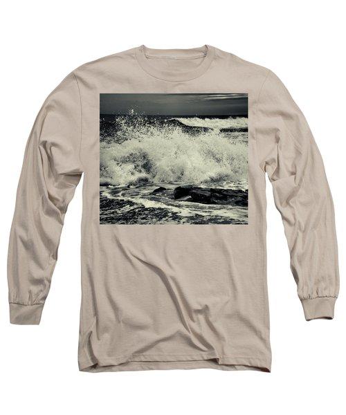 The Angry Sea Long Sleeve T-Shirt