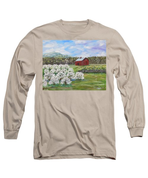 The Apple Farm Long Sleeve T-Shirt by Stanton Allaben