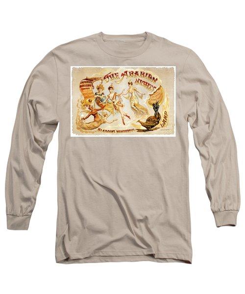 The Arabian Nights Burlesque Long Sleeve T-Shirt