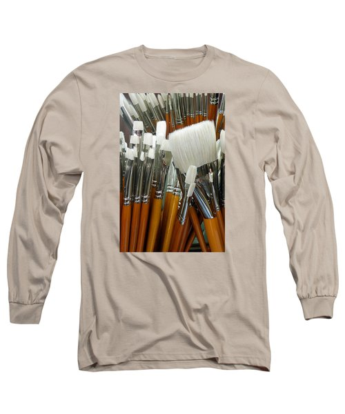 The Artist In The Brush 2 Long Sleeve T-Shirt
