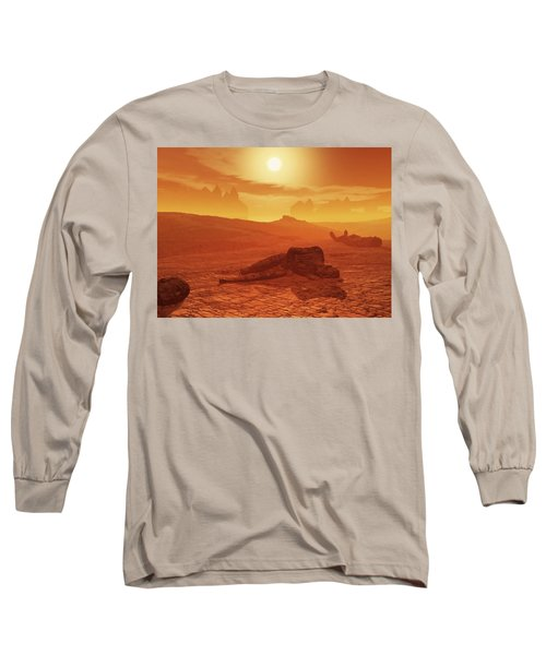The Ash Vessels Long Sleeve T-Shirt