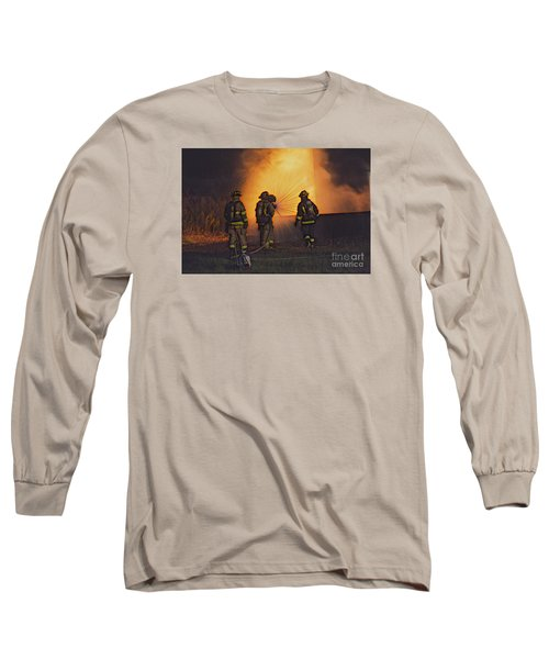 The Attack Long Sleeve T-Shirt by Jim Lepard
