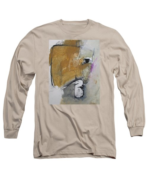 Long Sleeve T-Shirt featuring the painting The B Story by Cliff Spohn